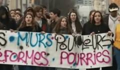 Manifestation à Lyon le 1er février. France 3 Auvergne Rhône Alpes/YouTube