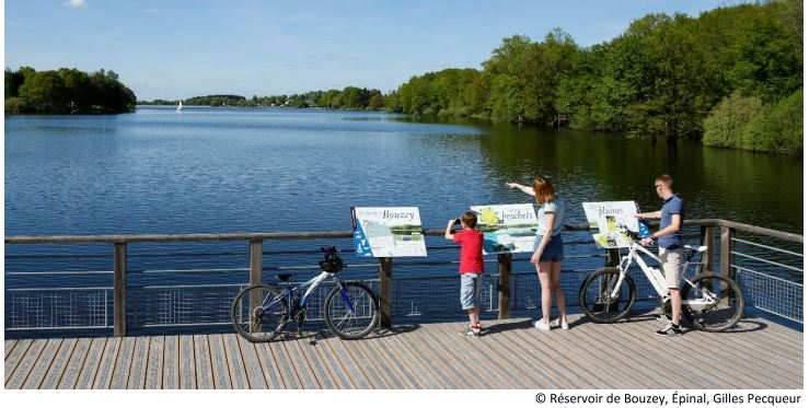 Réservoir de Bouzey, près d'Epinal (Gilles Pecqueur)