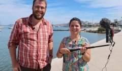 Thibaud Sauvageon et Mariana Díaz, cofondateurs de Science vagabonde.
