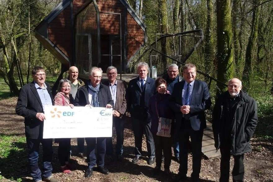 l'association « Vent des Forêts » à Fresnes-au-Mont (55) lauréate du Prix Coup de Cœur EDF 2017 (4 000 €).