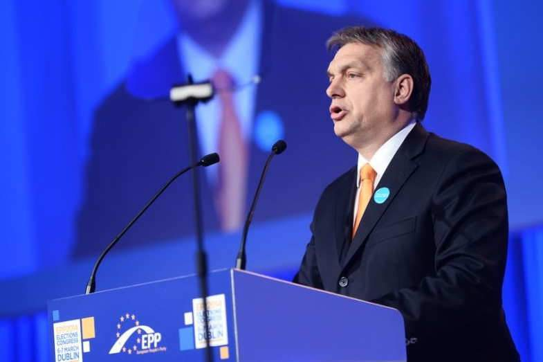 Le premier ministre sortant et favori de l'élection du 8 avril, Viktor Orban (photo flickr)