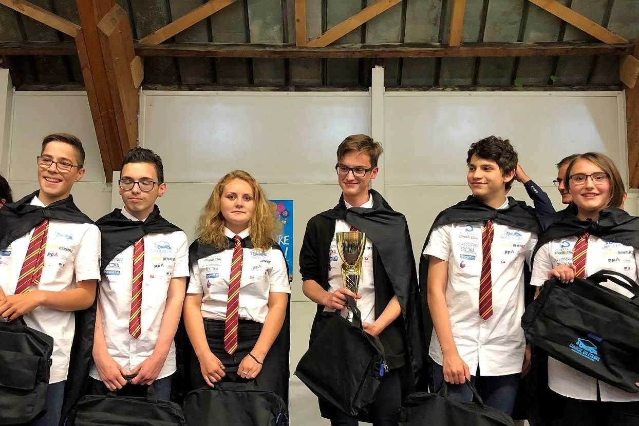 3eme prix : Equipe Serpend'or, Collège Bichat (Lunéville)