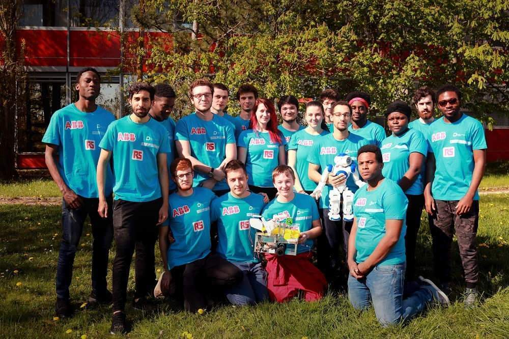 Polytech Nancy participe à la Coupe de France de Robotique