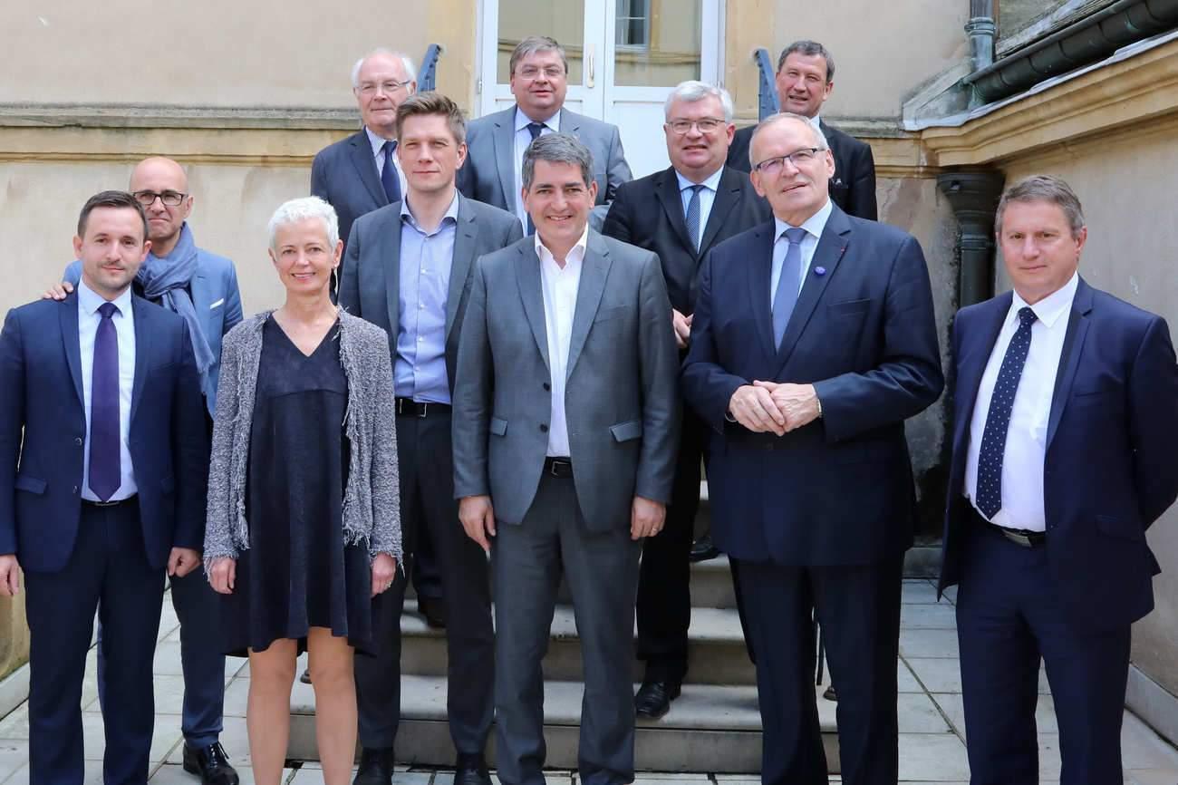 Région, départements : 11 présidents à Metz