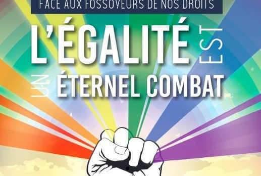 Nancy : la marche des Fiertés samedi 2 juin organisée par Equinoxe