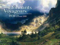 L'affiche 2018 du Festival de Saint-Malo : Étonnants Voyageurs