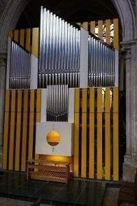 Orgue neuf de l'église de Didier en Côte-d'Or (photo l'Ameublement français)