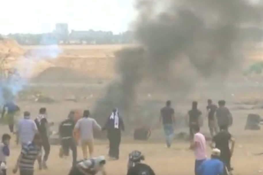 Les affrontements entre Israël et la Palestine ont fait une centaine de morts (capture Euronews)