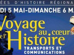 Deux journées pour découvrir l'histoire régionale (affiche)