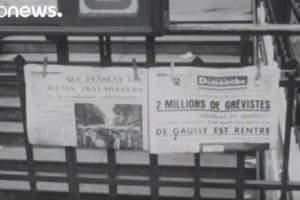 Mai-68, il y a 50 ans (Euronews)
