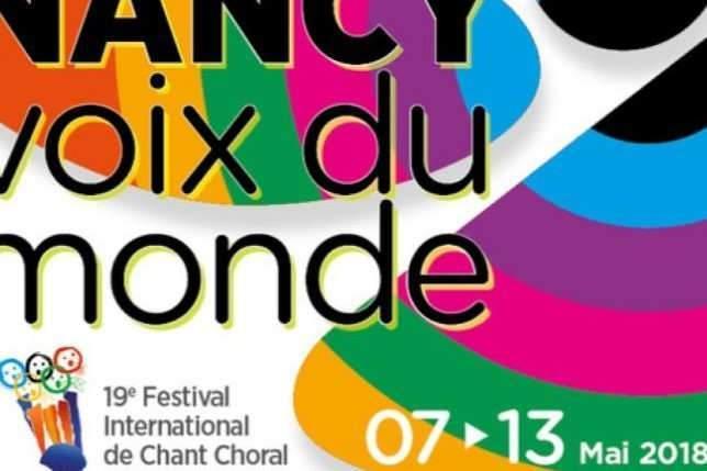 Affiche de la 19ème édition de Nancy, voix du Monde