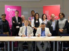 Signature d'un protocole d'entente universitaire avec le Brésil (photo Loria)