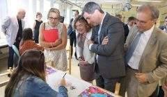 Expérimentation du lycée 4.0 (photo Pascal Bodez, Région Grand Est)