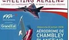 Meeting aérien à Chambley du 2 au 8 juillet 2018 5Affiche)