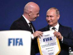 Vladimir Poutine et la Russie accueillent la Coupe du monde de football (en.kremlin.ru)