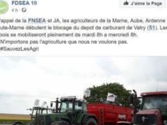 Le blocage du dépôt de carburant de Vatry (Marne) est prévu pendant plusieurs jours