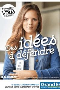 Défi N°3 : des idées à défendre (photo région Grand Est)