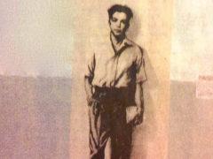 Portrait de Maurice Audin (1932-195?) peint sur le mur, rue 19 mai 1956 à Alger. Saber68 /Wikimedia, CC BY-SA