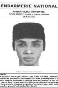Portrait-robot du suspect d'un meurtre dans la Marne