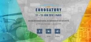 Le salon Eurosatory est le salon de la Défense et de la Sécurité (affiche)