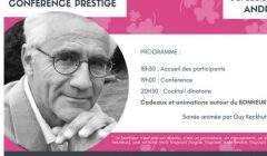 André Comte-Sponville pour le club entreprises Rives de Moselle