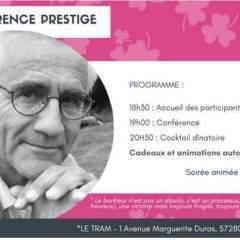 Moselle : une conférence sur le bonheur