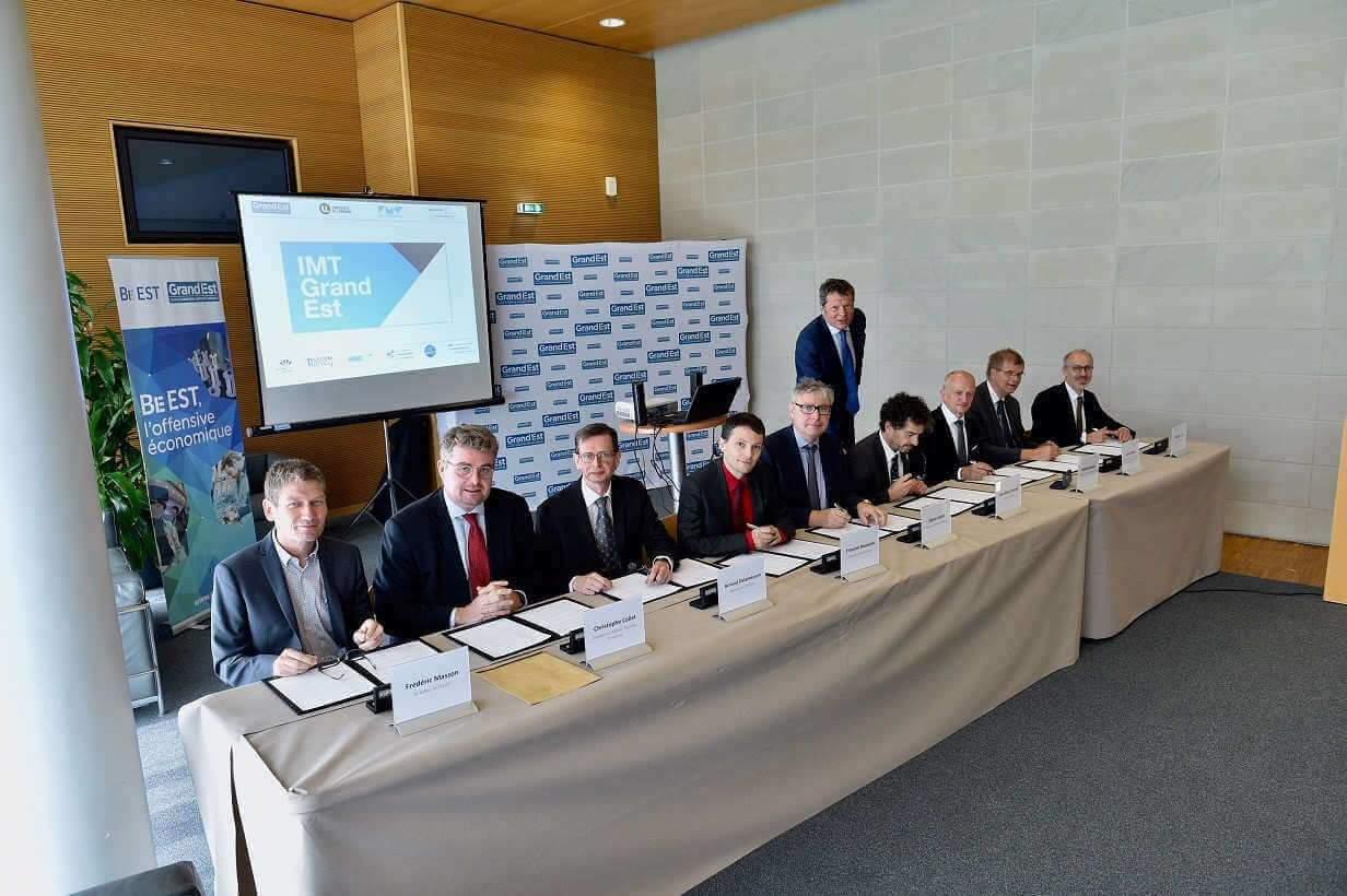 L'Université de Lorraine et l'Université de Strasbourg lancent l'IMT Grand Est