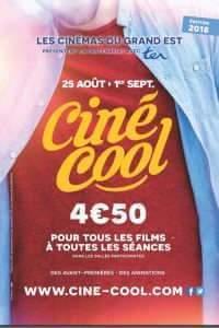 Ciné-Cool 2018, l'affiche