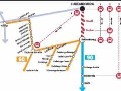 des bus pour se rendre au Luxembourg