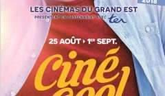 ciné-cool, affiche 2018