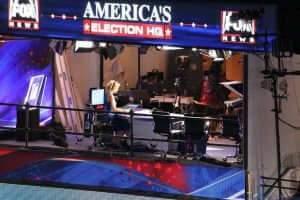 Sur le plateau de Fox News, durant les élections de 2012. Steve Bott/Wikimedia