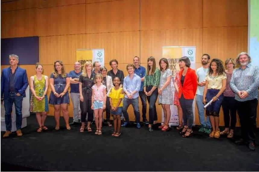 Dix lauréats du grand prix de la poésie de la RATP