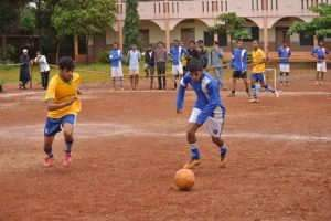 Un match amateur à Tilakwadi, en Inde (en 2014). Julian Correa/Flickr