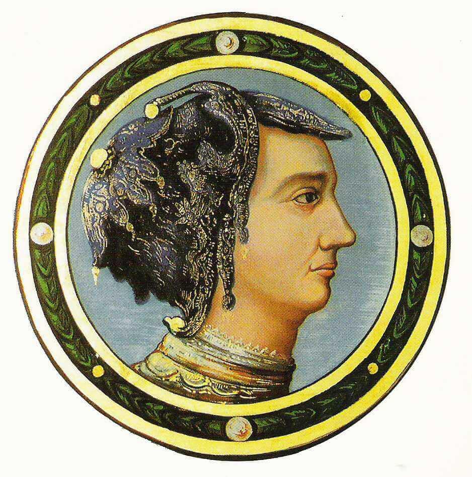 Portrait de Jeanne des Armoises au château de Jaulny (54). Est-ce la Pucelle ? (DR)
