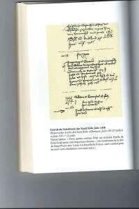 Sauf-conduit de Jeanne la Pucelle du 2 août 1436 conservé aux archives de la ville de Cologne (DR)