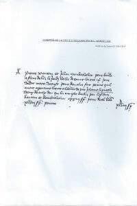 Extrait du Registre des comptes de la ville d'Orléans (1436)
