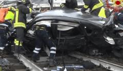 L'effondrement d'un viaduc à Gênes (Italie) le 14 août 2018 a fait au moins 35 morts. (capture Euronews)