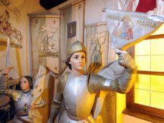 Jeanne d'Arc a inspiré plus de 20.000 livres, 5 opéras, une quarantaine de films (collection personnelle de Roland Nex)