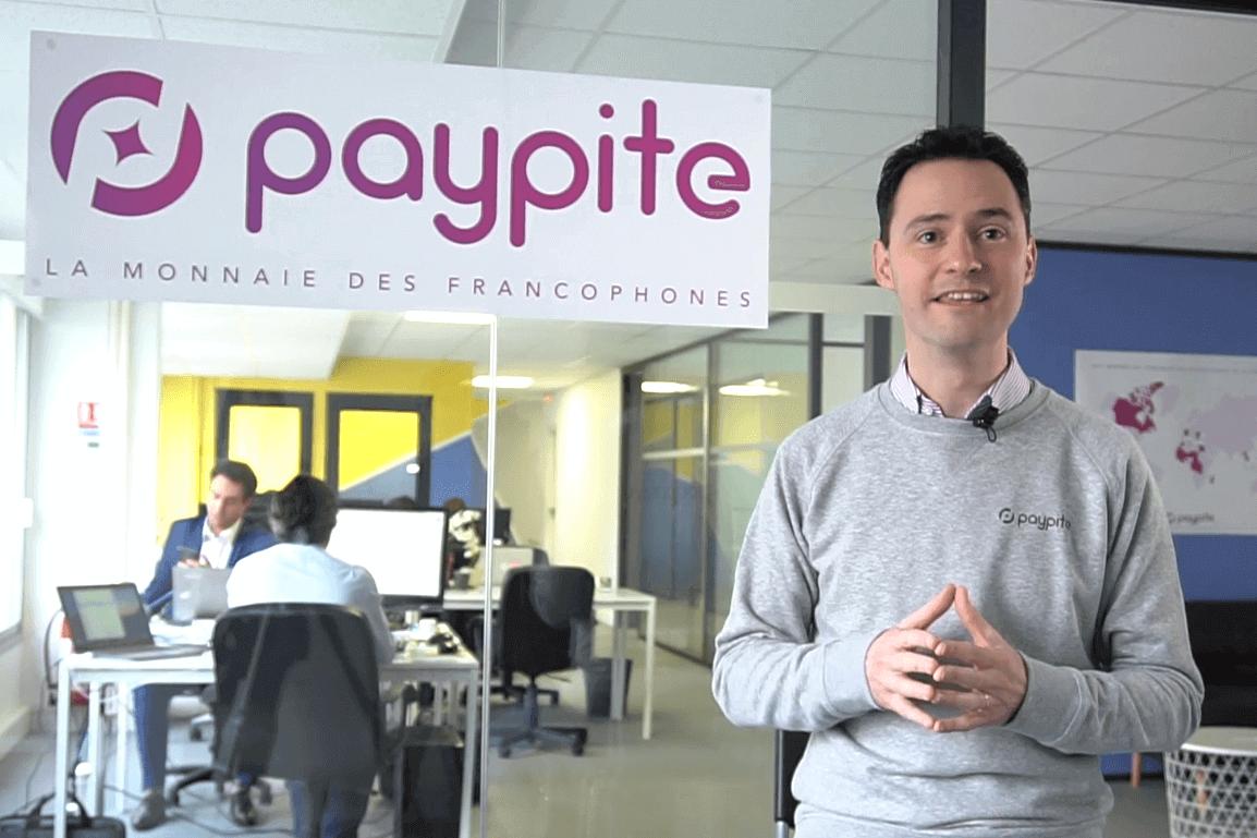 Vincent Jacques inventeur de la cryptomonnaie Paypite (capture sute Paypite.org)
