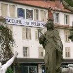 """Les Travailleuses missionnaires de l'Immaculée travaillaient sans compter au restaurant """"L'accueil du Pèlerin"""" (photo Wikipedia)"""