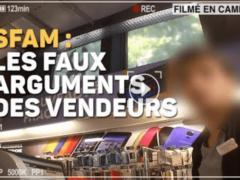 UFC-Que Choisir : plainte contre la FNAC et la SFAM (capture vidéo UFC)
