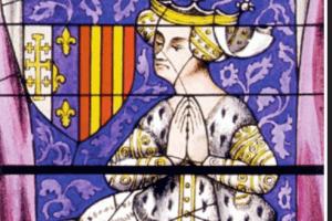 """Yolande d'Aragon, duchesse d'Anjou est-elle le cerveau de """"l'opération Pucelle""""? (Wikipedia)"""