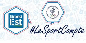 La Région Grand Est s'associe au mouvement #LeSportCompte