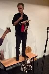 Steven Ritz-Barr, un marionnettiste de talent (DR)