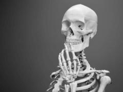 L'analyse de l'ADN de ce squelette pourra servir à établir le portrait-robot de la personne. Mathew Schwartz / Unsplash, CC BY-SA