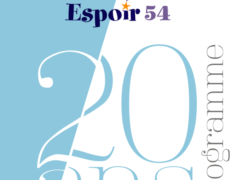 Espoir 54 , le programme (affiche)