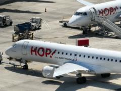 Au départ de Metz-Nancy Airport (photo site internet Hop!)