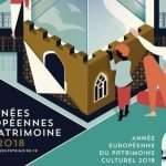 Les journées européennes du patrimoione 2018 dans le Grand Est (affiche)