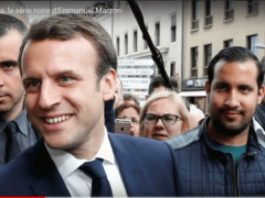 Alexandre Benalla, le garde du corps de Macron (capture Euronews)