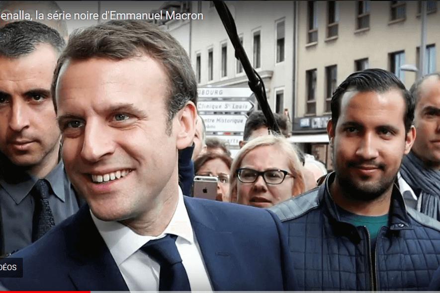 Depuis Benalla, la série noire d'Emmanuel Macron